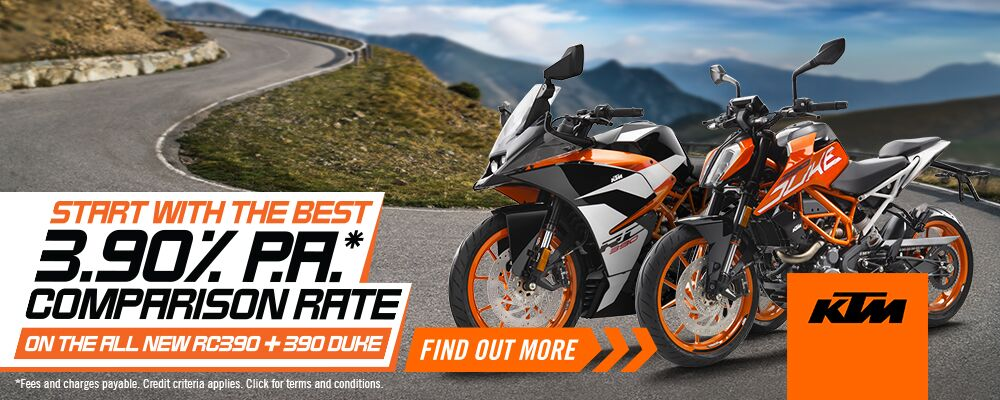 /ImageGen.ashx?image=/media/1265/ktm-390-finance_1000x400_preview.jpeg&width=400 - Coast Powersports - Yamaha, KTM, Kawasaki motorcycles - Adelaide, South Australia