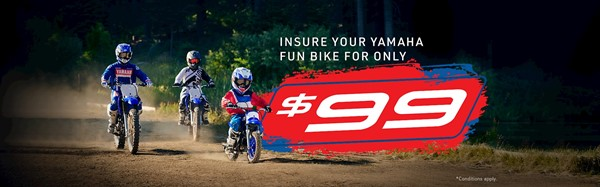 153 $99 Yamaha Fun Bike Insurance